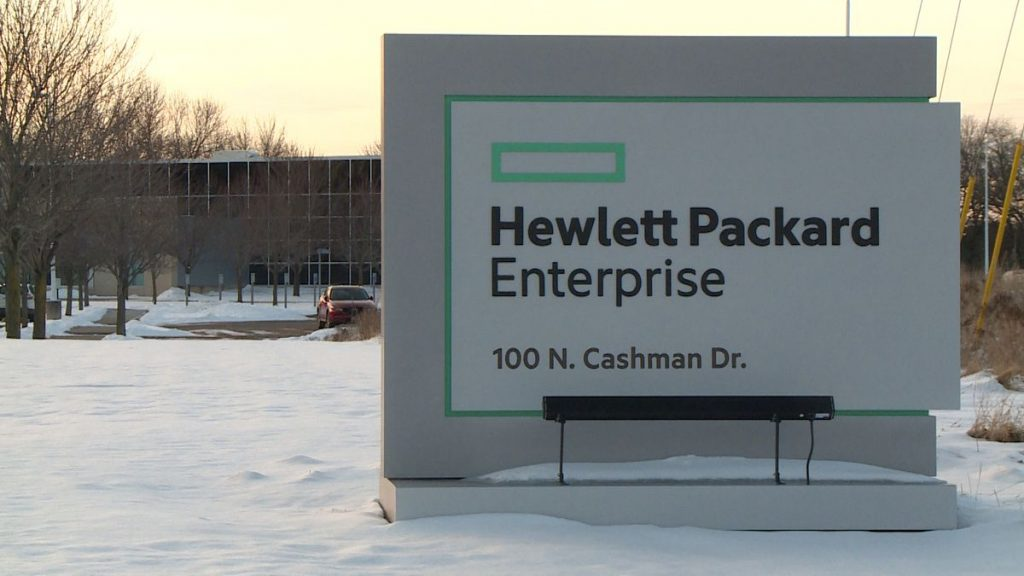 HPE  Co Stock
