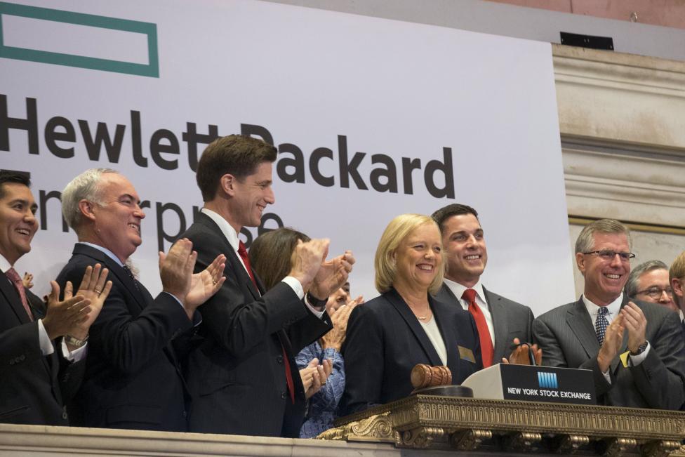 Hewlett Packard Enterprise Company Stock