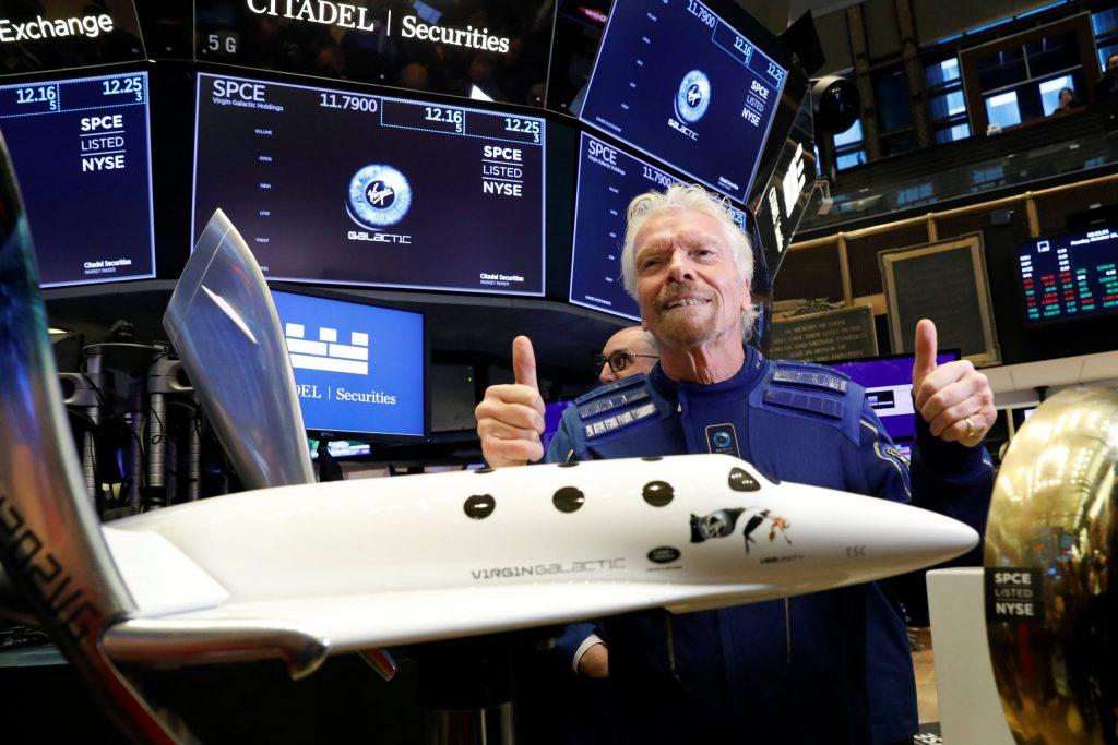 Virgin Galactic SPCE Stock