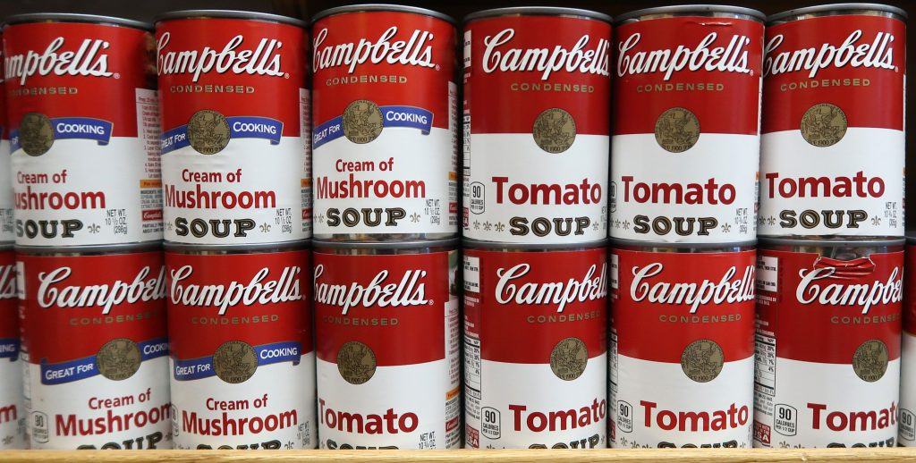 Campbell CPB stock
