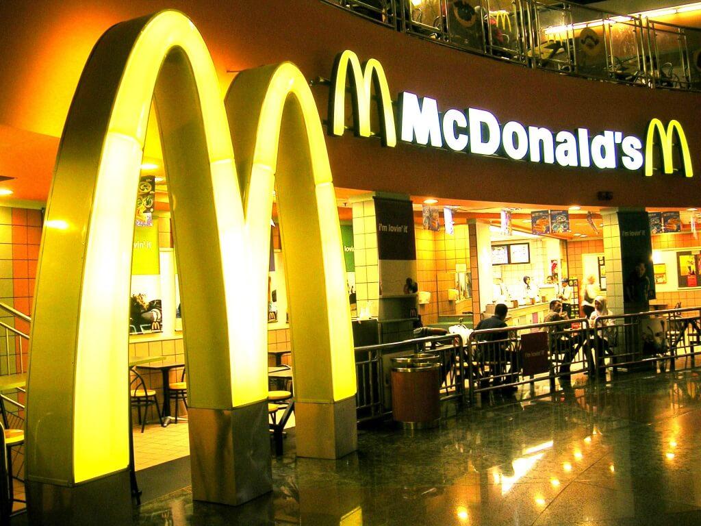 McDonald's has a bit of history